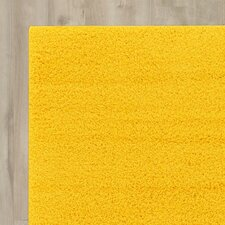 Madison Basic Dark Yellow Area Rug