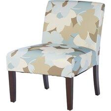 Margaret Patterned Slipper Chair