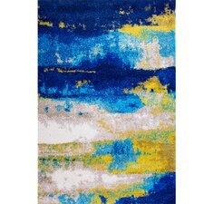 Greta Blue Area Rug