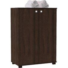 Erica 24-Pair Shoe Storage Cabinet