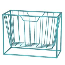 Franco Iron Magazine Rack