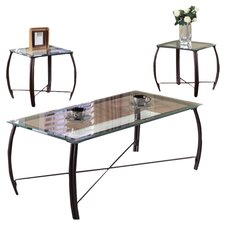 Christina 3-Piece Coffee Table Set