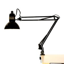 """Ruthie 35"""" H Table Lamp with Bowl Shade"""