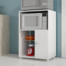 Erica Clever Bedok Kitchen Organizer with 3 Shelves and 1 rack in White