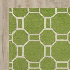 June Hand-Tufted Lime Indoor/Outdoor Area Rug