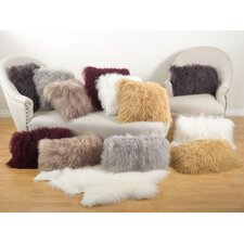 Becky Lamb Fur Lumbar Pillow