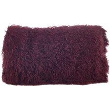 Becky Lamb Fur Lumbar Pillow
