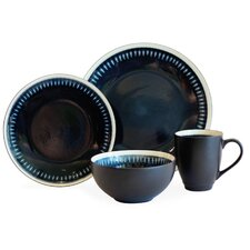 Reactive Lines 16 Piece Dinnerware Set