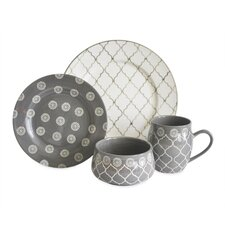Moroccan 16 Piece Dinnerware Set