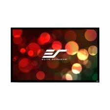 ezFrame Plus Series White Fixed Frame Projection Screen