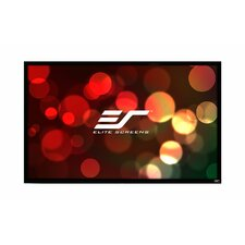 ezFrame Series White Fixed Frame Projection Screen