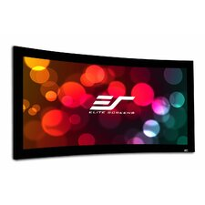 Lunette Series White Fixed Frame Projection Screen