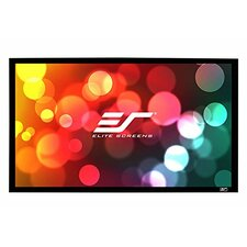 Sable Frame White Fixed Frame Projection Screen