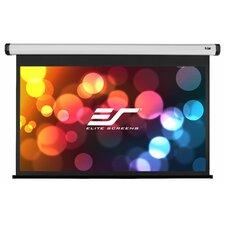 "Home2 Series Matte White 100"" Diagonal Electric Projection Screen"