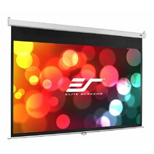 "SRM Series White 100"" Diagonal Manual Projection Screen"