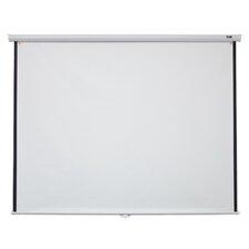 "White 120"" diagonal Manual Projection Screen"