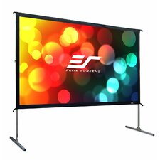 "YardMaster2 White 44"" H x 78.4"" W Portable Projection Screen"