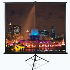 Tripod Series White Portable Projection Screen