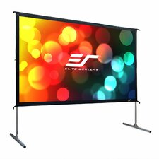 YardMaster Grey Portable Projection Screen