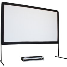 "Yard Master Series White 150"" diagonal Portable Projection Screen"