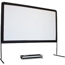 "Yard Master Series White 150"" diagonal Portable Projection Screen"