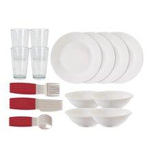 Kitchen 24 Piece Dinnerware Set