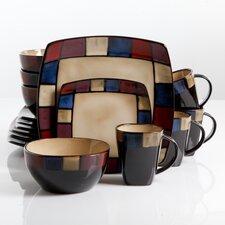 Soho Lounge 16 Piece Dinnerware Set