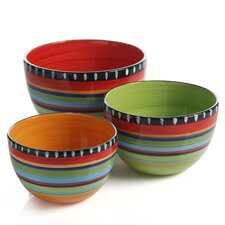 Pueblo Springs 3 Piece Bowl Set