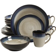Couture Bands 16 Piece Dinnerware Set