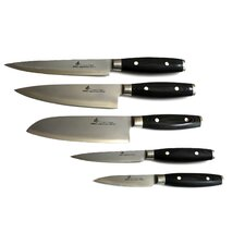VG-10 Series 5 Piece 3 Layers Forged Steel Knife Set