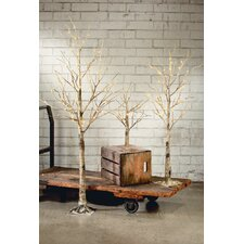 Birch Lighted Tree