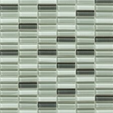 Aria Glass Mosaic Tile in Green
