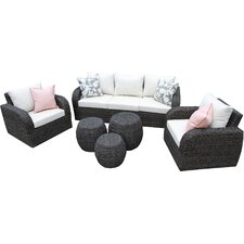 Sanford 6 Piece Seating Group with Cushions