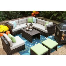 Canyon 7 Piece Lounge Seating Group with Cushions