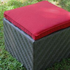 Camilia Ottoman with Cushion
