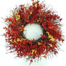 Firebush Wreath