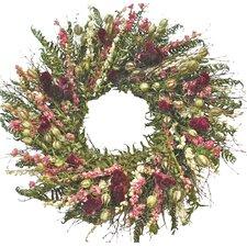 """22"""" Celosia & Fern Indoor Wreath"""