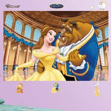 Disney Beauty and The Beast Wall Mural