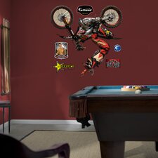 Action Sports Motocross Wall Decal