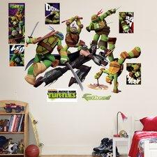 Teenage Mutant Ninja Turtles Shredder Battle Wall Decal