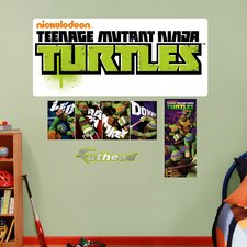 Teenage Mutant Ninja Turtles Logo Wall Decal