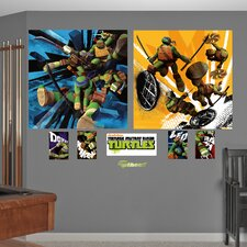 Teenage Mutant Ninja Turtles Dual Action Wall Decal