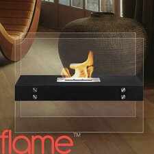 Avila Contemporary Ethanol Indoor/ Outdoor Fireplace