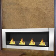 Wraith Ventless Bio Ethanol Wall Mount Fireplace