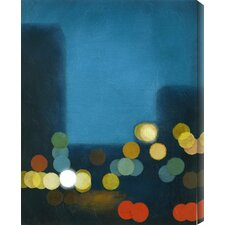 Flashing Lights II by Sean Jacobs Painting Print Canvas