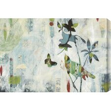 'Meander I' by Judy Paul Graphic Art on Wrapped Canvas