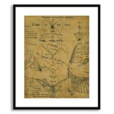 Art for Men 'Learning to Fly' by St. John Framed Graphic Art