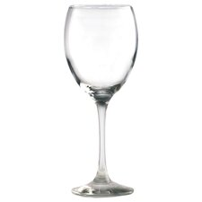 Mode Box 0.34 L Red Wine Glass (Set of 4)