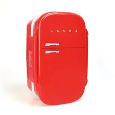 20cm Fridge Shaped Bento Box with Cutlery and Watertight Seal