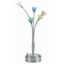 "Flora 27"" H Table Lamp with Novelty Shade"
